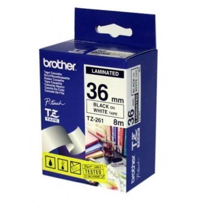 کاست برچسب لیبل پرینتر برادر brother TZ-261 Tape Cassette