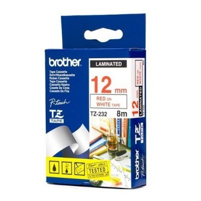 کاست برچسب لیبل زن برادر brother TZ-232 Tape Cassette