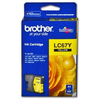 کارتریج جوهر - رنگ زرد مدل LC67Y