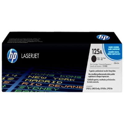 HP 125A Black Toner
