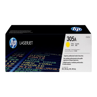 HP 305A Yellow Toner