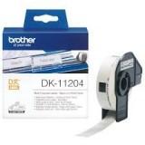 رول لیبل زن برادر brother DK-11204 Die-Cut Label