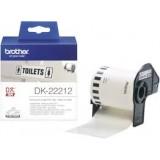 رول لیبل زن برادر brother DK-22212Die-Cut Label