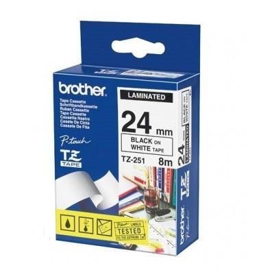 کاست برچسب لیبل زن برادر brother TZ-251 Tape Cassette