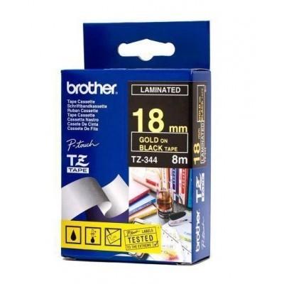 کاست برچسب لیبل پرینتر برادر brother TZ-344 Tape Cassette