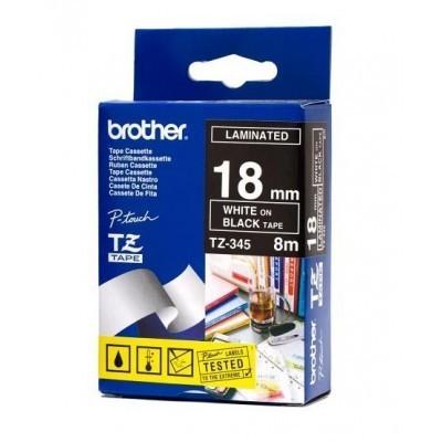 کاست برچسب لیبل پرینتر برادر brother TZ-345 Tape Cassette