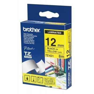 کاست برچسب لیبل پرینتر برادر brother TZ-631 Tape Cassette