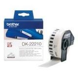 رول لیبل زن برادر brother DK-22210Die-Cut Label
